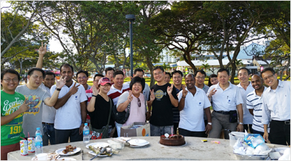BARBEQUE AT EAST COAST PARK – 24 JULY 2015