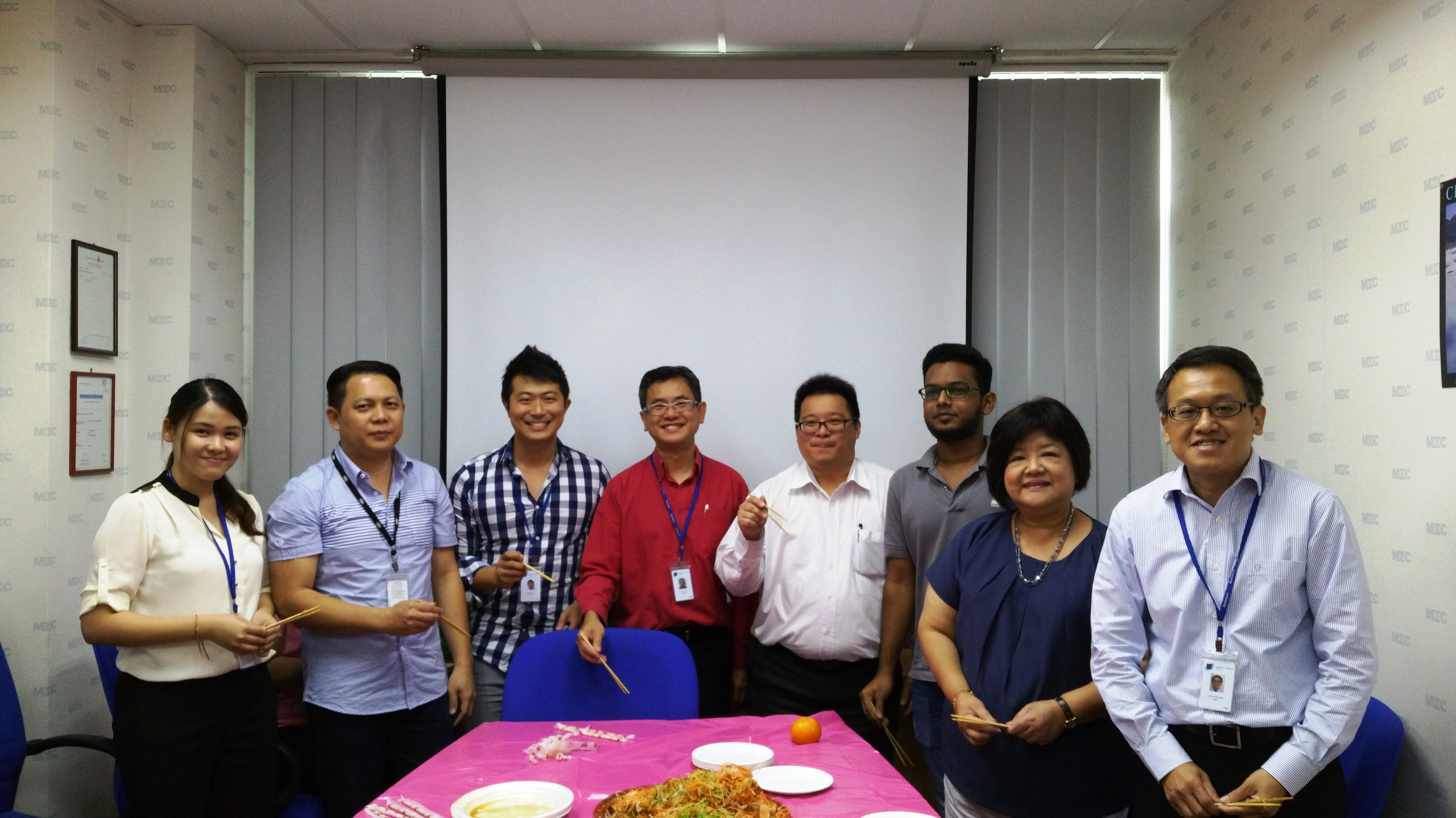 LOHEI LUNCH AND MEDICAL SCREENING – 19 FEBRUARY 2016