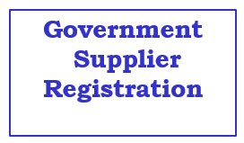 Govt Supplier Registration
